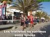 Los triatletas no sufrimos